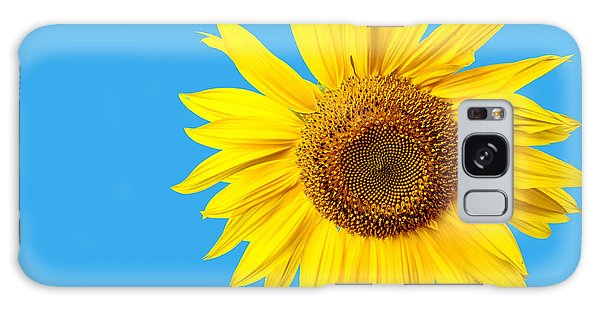 Sunflower Blue Sky Galaxy Case