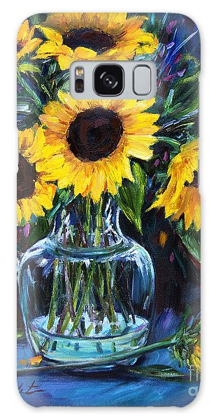 Sunflower Bouquet  Galaxy Case