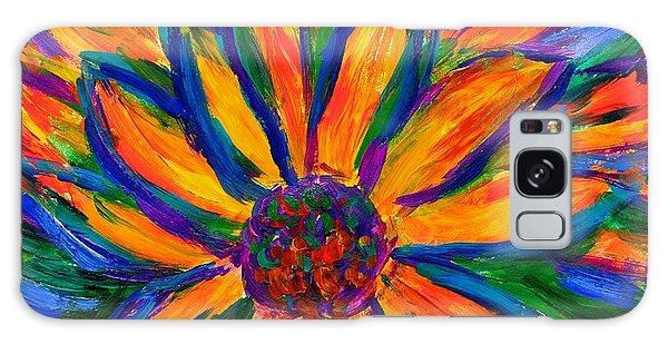 Sunflower Burst Galaxy Case