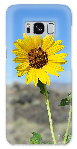 Sunflower By Craters Of The Moon Galaxy Case