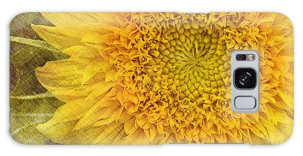 Sunflower Galaxy Case by Carrie Cranwill