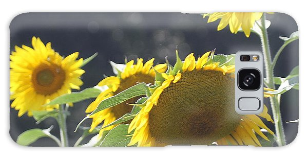 Conyers Galaxy Case - Sunflower Cluster 2 by Cathy Lindsey