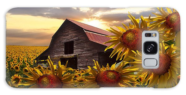 Sunflower Dance Galaxy Case