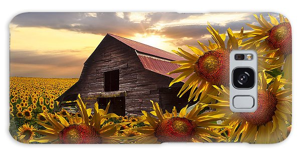 Sunflower Dance Galaxy Case