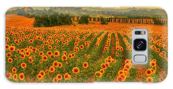 Sunflower Dream Galaxy Case