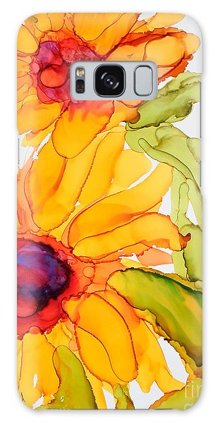 Sunflower Duo Galaxy Case