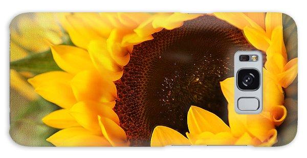 Sunflower Galaxy Case by Eden Baed