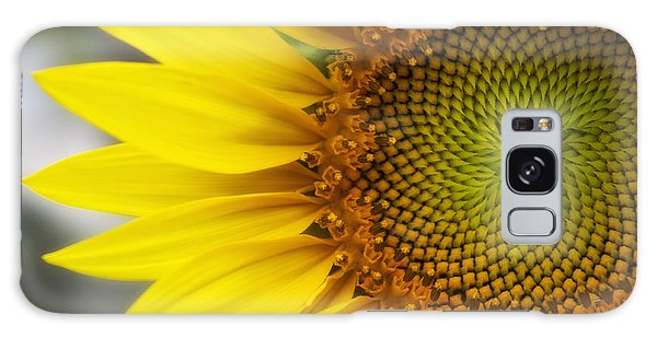 Sunflower Face Galaxy Case by Shelly Gunderson