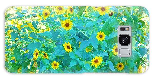 Sunflower Forest Galaxy Case