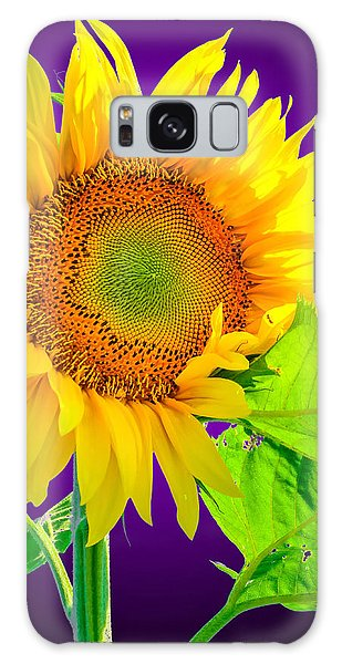 Sunflower Glow Galaxy Case by Brian Stevens
