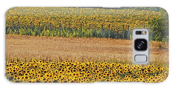 Sunflower Heaven Galaxy Case