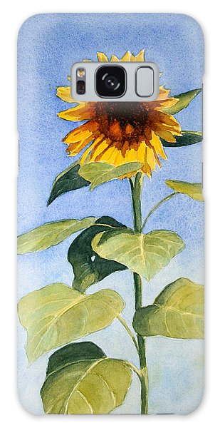 Sunflower II Galaxy Case