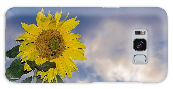 Sunflower In The Sky Galaxy Case by Anthony Thomas