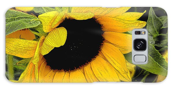 Sunflower Galaxy Case by James C Thomas