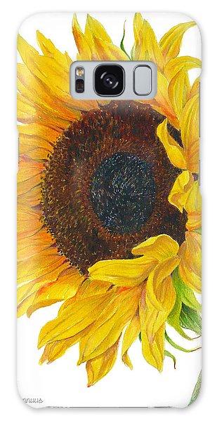 Sunflower - Helianthus Annuus Galaxy Case