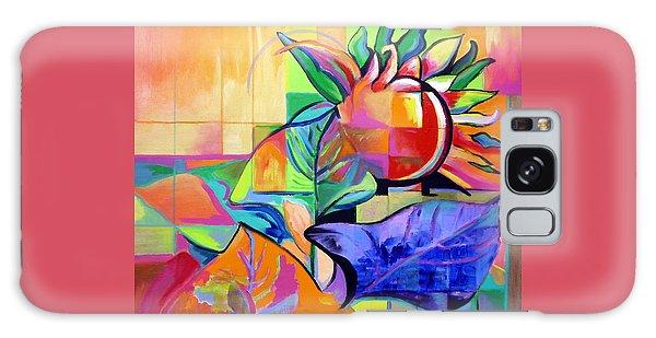 Sunflower Galaxy Case by Jodie Marie Anne Richardson Traugott          aka jm-ART