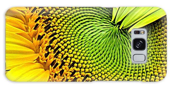 Kaleidescope Sunflower Galaxy Case