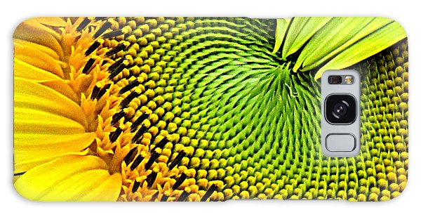 Sunflower Kaleidescope Galaxy Case