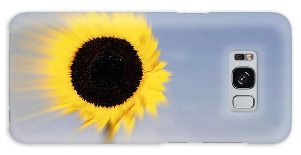 Sunflower Light Rays In The Wind  Galaxy Case by Linda Matlow