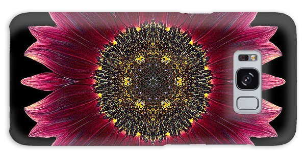 Sunflower Moulin Rouge I Flower Mandala Galaxy Case