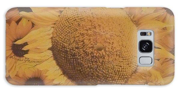 Sunflower Mutation Galaxy Case by Douglas Fromm