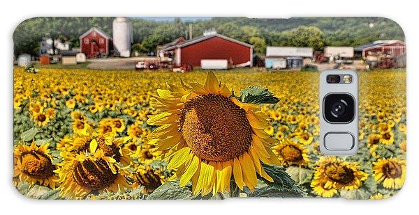 Sunflower Nirvana 21 Galaxy Case