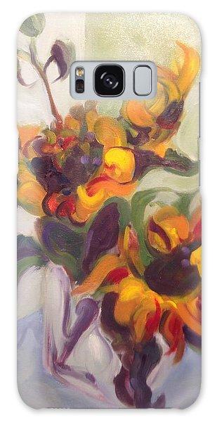 Sunflower Pirouette Galaxy Case