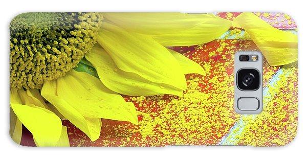 Helianthus Annuus Galaxy Case - Sunflower Pollen (helianthus Annuus) by Dr. John Brackenbury/science Photo Library
