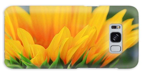 Sunflower Profile Galaxy Case