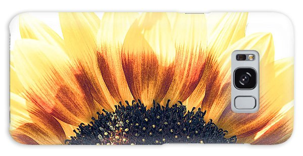 Sunflower Rising Galaxy Case by Wade Brooks
