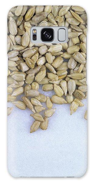 Helianthus Annuus Galaxy Case - Sunflower Seeds (helianthus Annuus) by Geoff Kidd/science Photo Library