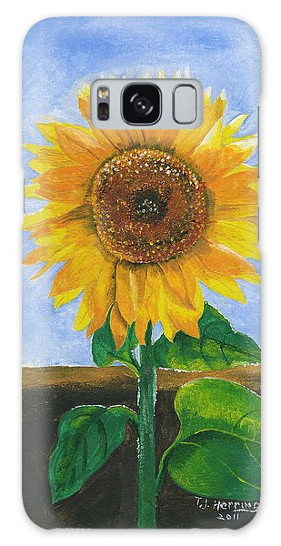Sunflower Series Two Galaxy Case by Thomas J Herring