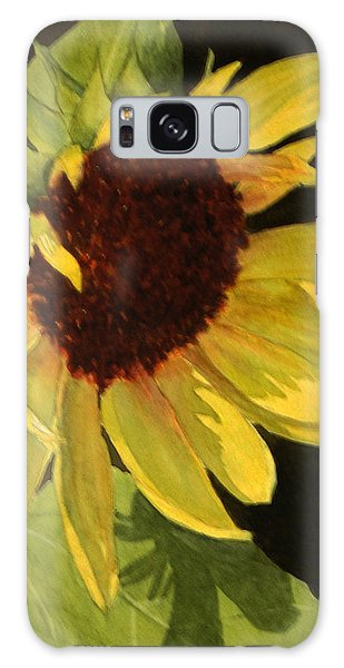 Sunflower Smile Galaxy Case