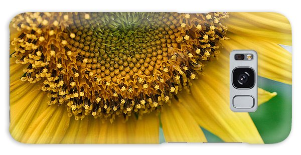 Sunflower Smiles Galaxy Case