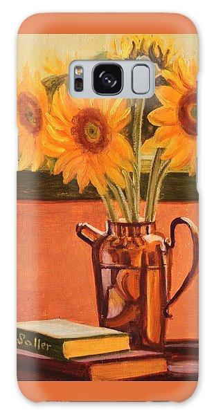 Sunflower Still Life Galaxy Case