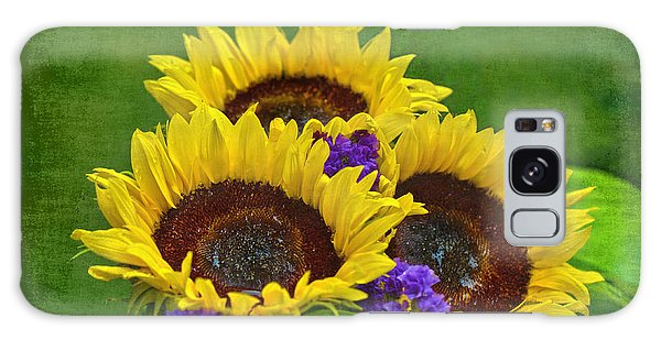 Sunflower Trio Galaxy Case
