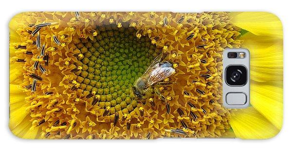 Sunflower Visitor Series 2 Galaxy Case
