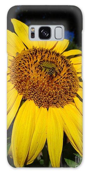 Sunflower Visitor Series 3 Galaxy Case