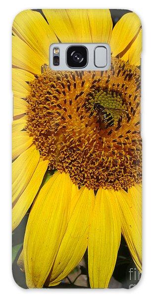 Sunflower Visitor Series 5 Galaxy Case