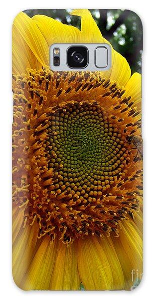 Sunflower Visitor Series 6 Galaxy Case