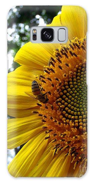 Sunflower Visitor Series 7 Galaxy Case