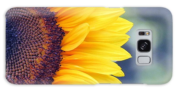 Sunflower With Bokeh Galaxy Case