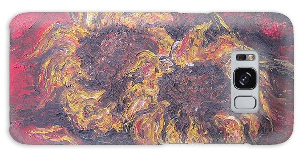 Sunflowers 2 - Ode To Van Gogh Galaxy Case