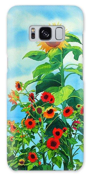 Sunflowers 2014 Galaxy Case