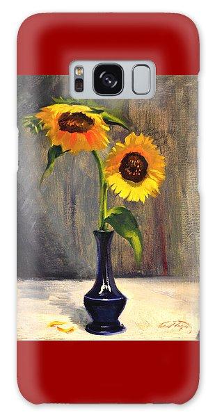 Sunflowers - Adoration Galaxy Case