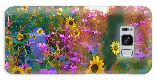 Sunflowers And Cosmos Galaxy Case