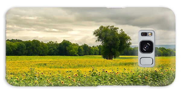 Sunflowers And The Tree Galaxy Case