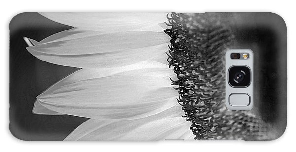 Sunflowers Beauty Black And White Galaxy Case