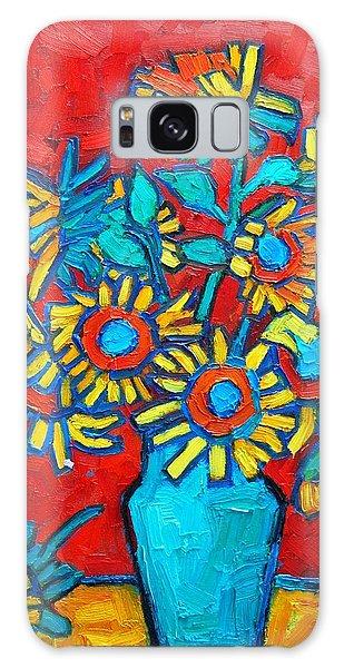 Sunflowers Bouquet Galaxy Case