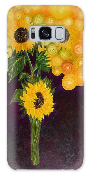 Sunflower's Dream Galaxy Case